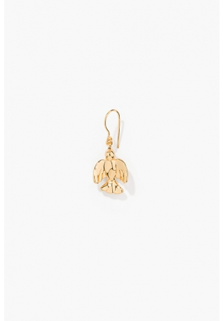 yellow-gold-plated-single-earring-with-dove-charm.