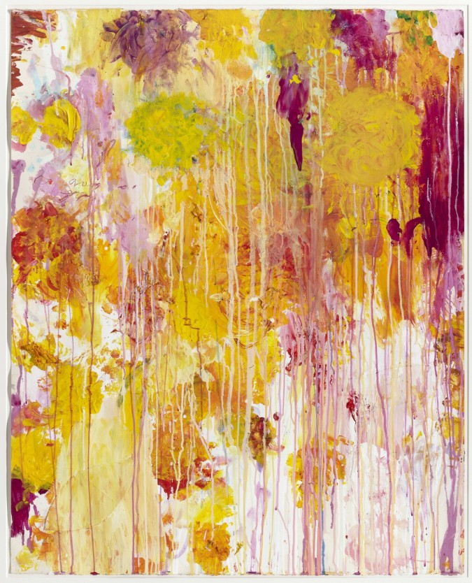 Cy Twombly - Untitled, 2001