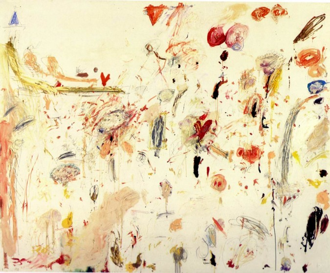 Cy Twombly, 1961