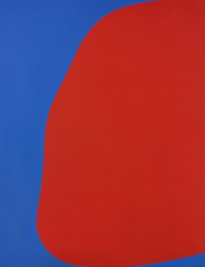 Ellsworth Kelly - Red Blue, 1962