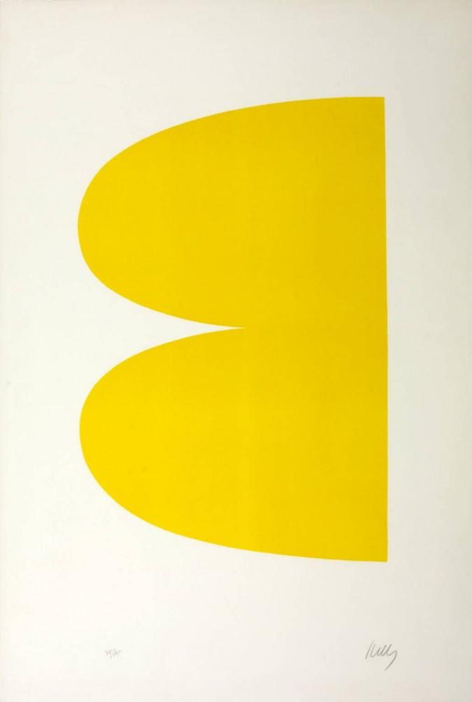 Ellsworth Kelly, Yellow (II.2 Yellow), 1964-1965