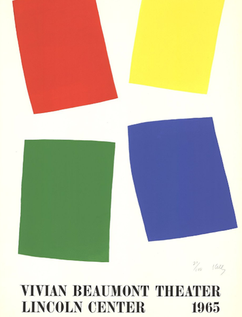 Ellsworth Kelly - Vivian Beaumont Theater Lincoln Center, 1965