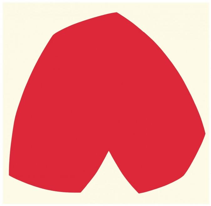 Ellsworth Kelly - Red White, 1962